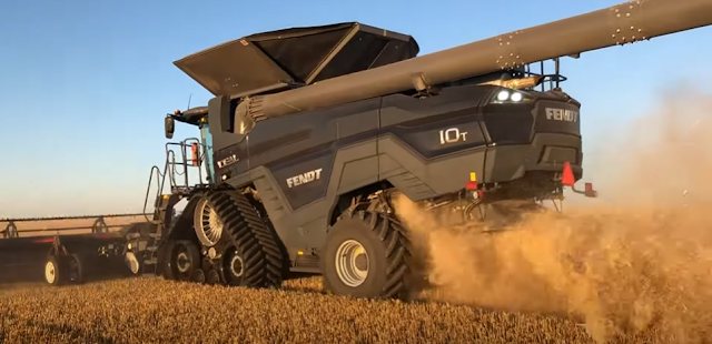 Combine harvester explained: Class and types of combines, types of headers and how it works!