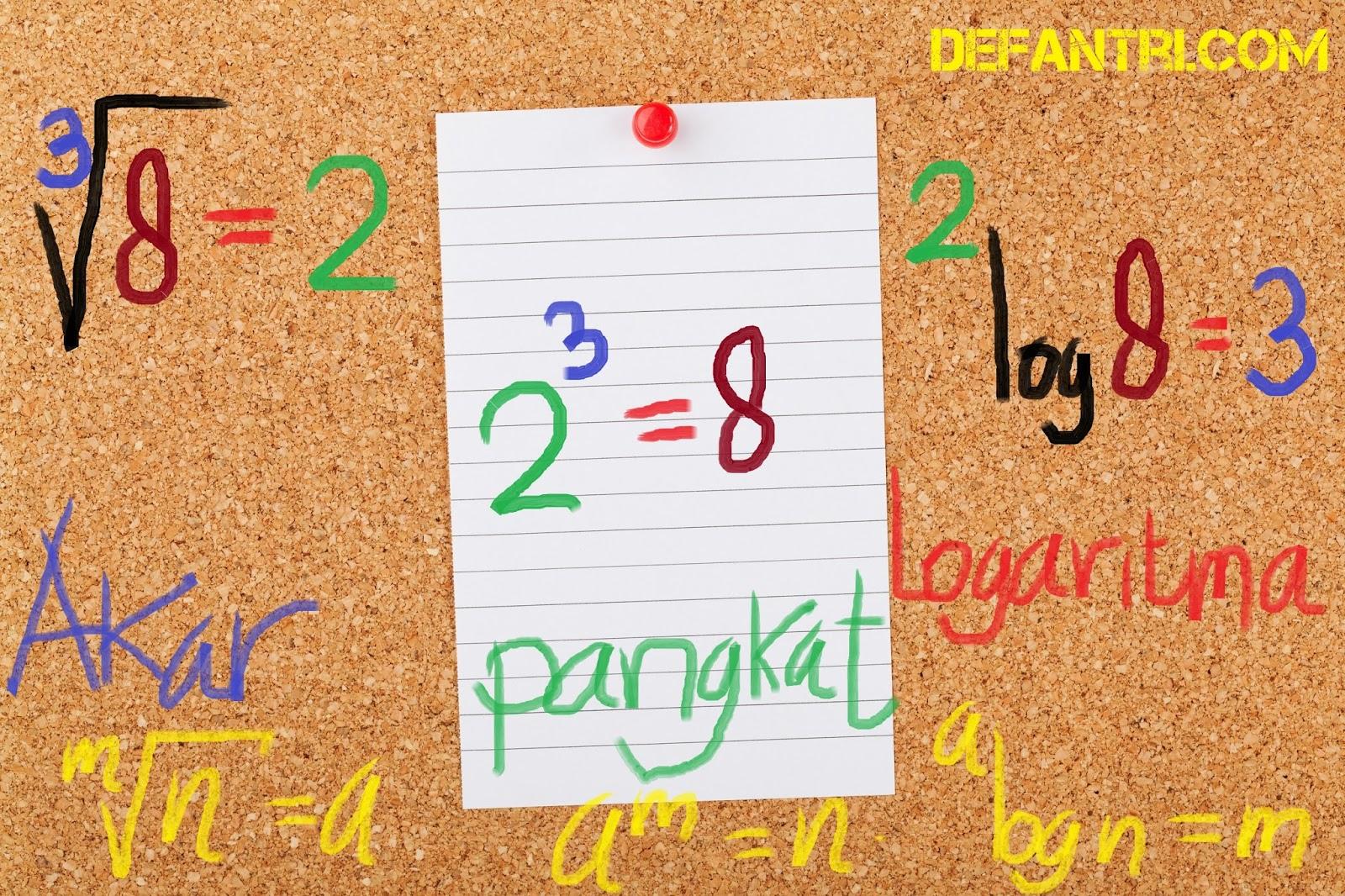 Matematika Dasar Logaritma (*Soal Dari Berbagai Sumber)