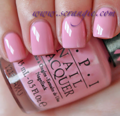 Scrangie Opi Pink Of Hearts 2012 Breast Cancer Awareness Collection Swatches And Review