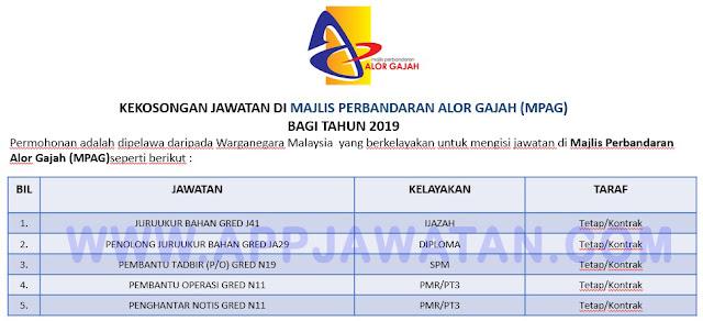 Majlis Perbandaran Alor Gajah (MPAG)