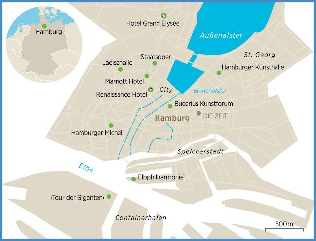 Hamburg neu entdecken mit der Elbphilharmonie from Elbphilharmonie Karte