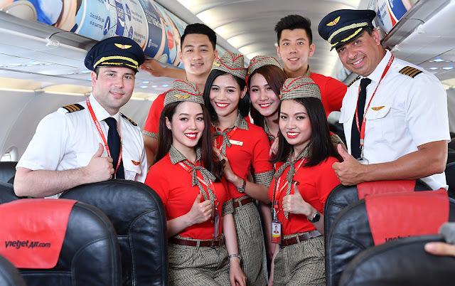 Vietjet tawar diskaun 50% ke atas semua laluan di seluruh Asia, termasuk Malaysia