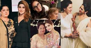 Famous Showbiz Stars with Their Mothers - [Pictorial]