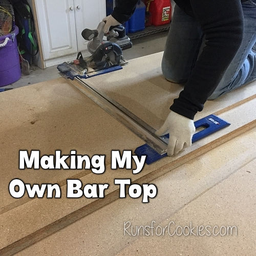 Making my own laminate bar top