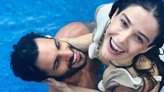 Turkish Tv Series Kiraz Mevsimi Couple Ozge Gurel And Serkan Cayoglu #AyishaThousif