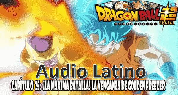 Ver capitulo 25 en audio latino online, Freezer se ha transformado en Golden Freezer y comienza una nueva batalla con Goku.