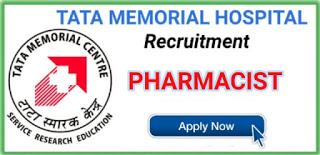Latest Pharmacist Jobs in Tata Memorial Centre