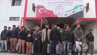"""سوريا..الإفراج عن 45 عنصرا جندهم """" ي ب ك"""" الإرهابي قسرا"""
