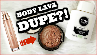 rihanna body lava dupe, body lava dupe, fenty body lava, diy body illumminator, diy body highlighter, summer glow,