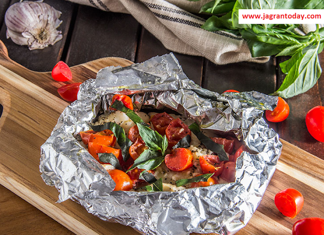 Bad News for Those Who Packs His Food in Aluminum Foil