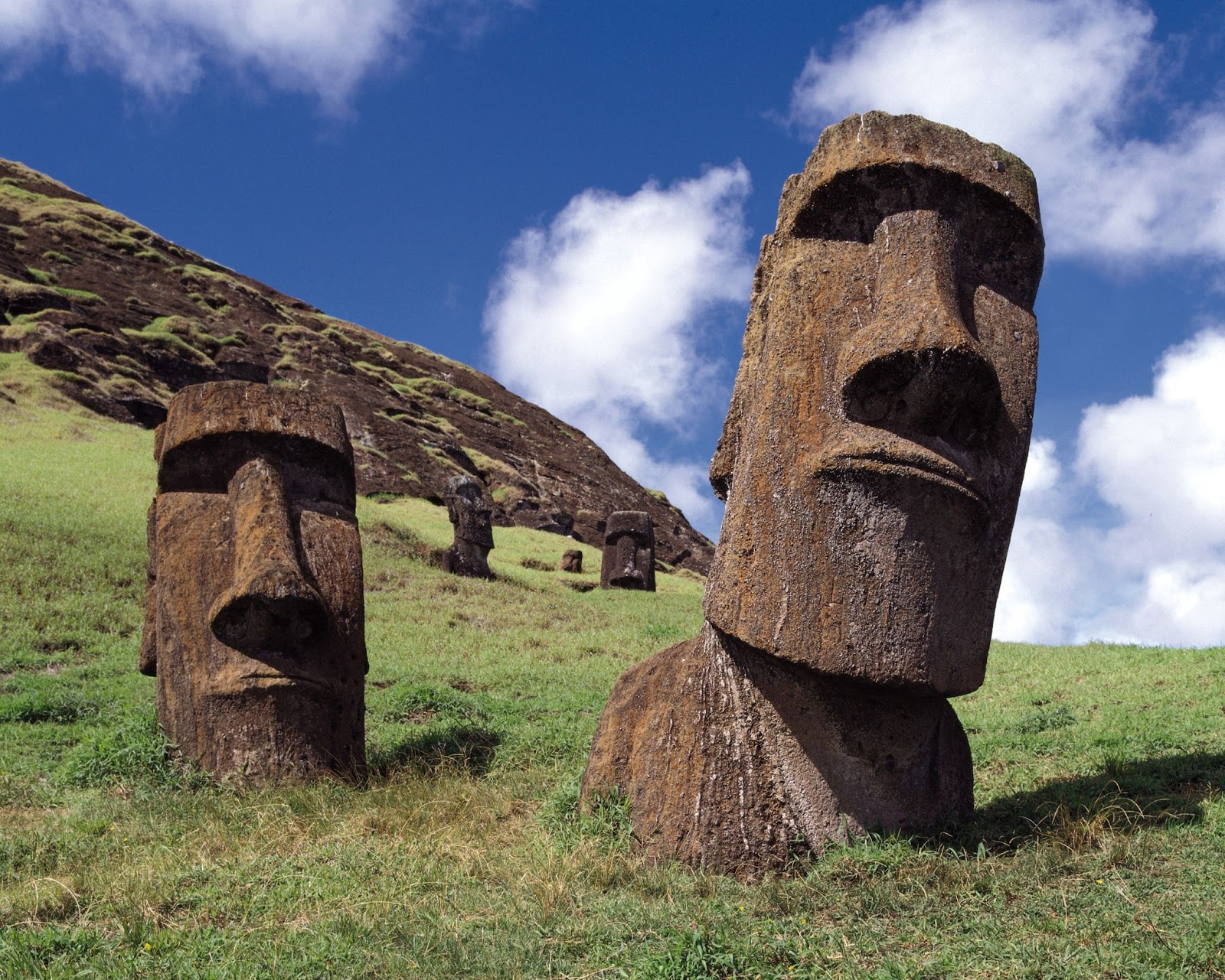 The Genius of Ancient Man: Easter Island: How did the Moai ...