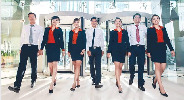 Đồng phục công sở cần có sự khác biệt, làm nổi bật hình ảnh công ty