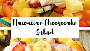 Hawaiian Cheesecake Salad #vegan #healthyrecipes #fruits