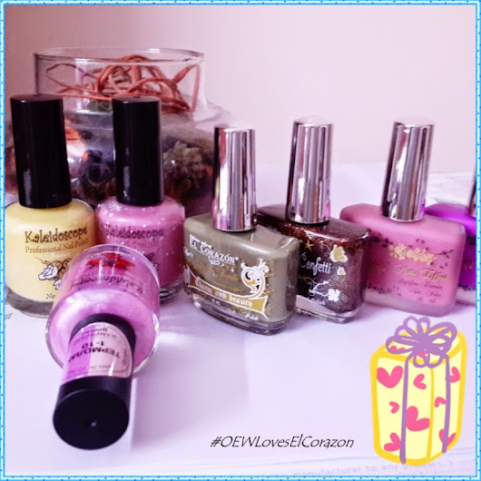 Win Nail Lacquers From El Corazon - Diwali Giveaway