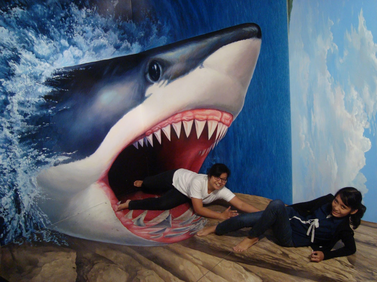 3d shark sex