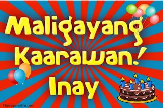 Maligayang Kaarawan Inay