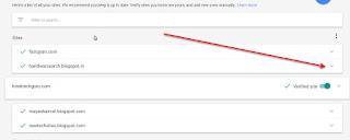google adsense verfied site
