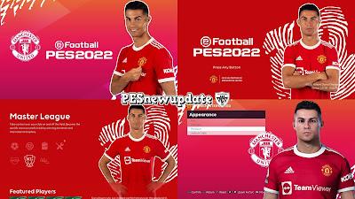 "PES 2021 Menu Mod Cristiano Ronaldo ""RETURNS"" by PESNewupdate"