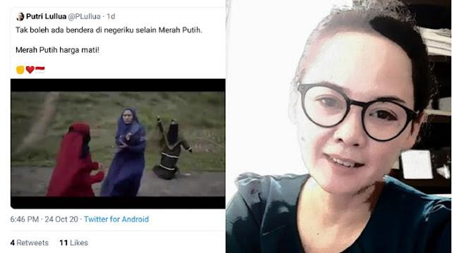 Sebuah video viral yang diunggah oleh sebuah akun bernama @PLullua yang menceritakan dua kelompok sama-sama dari Islam