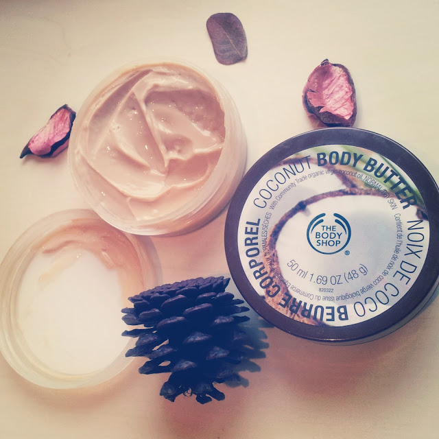 nip fab body shop body butter coconut products