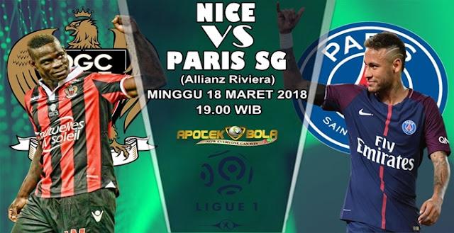 Prediksi Nice vs Paris SG 18 Maret 2018