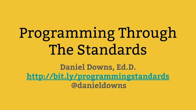 Programming Through The Standards: A Boot-Camp Style Review Of Essential Computer Science Learning For Educators