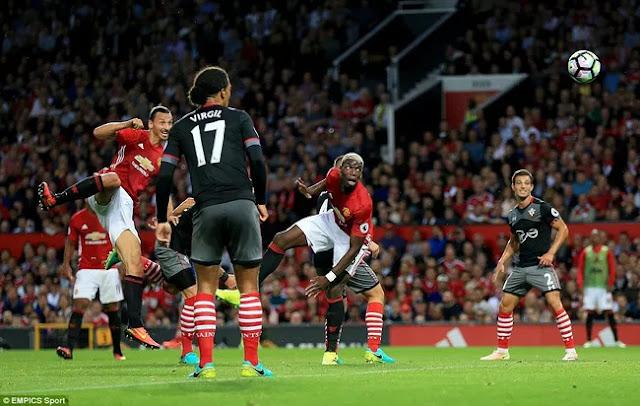 Màn trình diễn ấn tượng của Pogba khiến fan MU phát cuồng