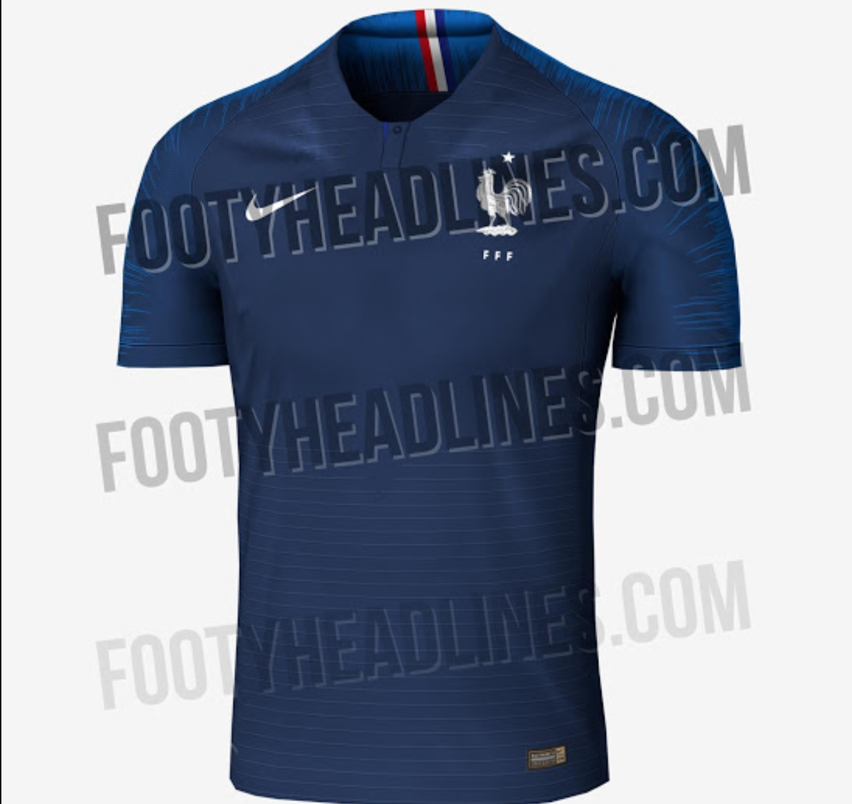 New France Home Kit for World Cup 2018 Leaked