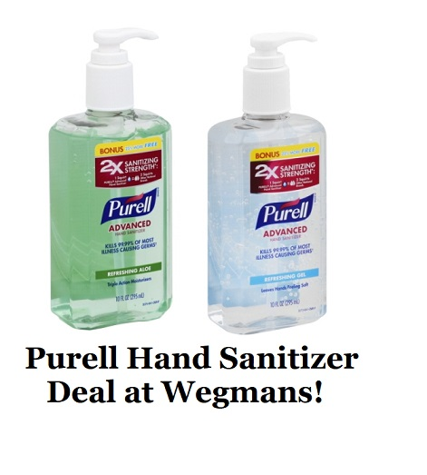 photo regarding Purell Printable Coupons named Purell Innovative Hand Sanitizer Package at Wegmans Discounts and In the direction of-Dos