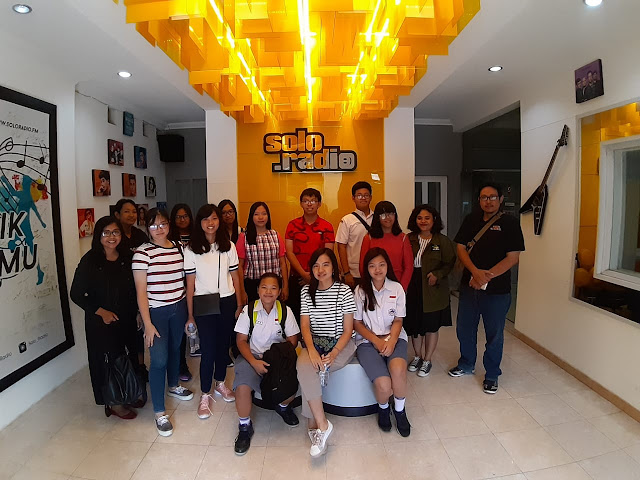 Siswa SMA Kristen Kalam Kudus Kunjungi Solo Radio