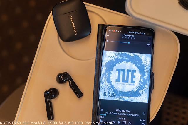 【TaoTronics SoundLiberty92】軽いフィット感でずっと着けていられる装着感を実現。大口径ドライバで音質も確保した完全ワイヤレスイヤホンTaoTronics SoundLiberty92レビュー