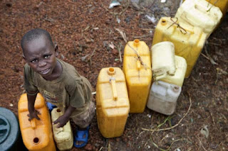 There are 4.5 million internally displaced persons in the Democratic Republic of the Congo due to war and conflict