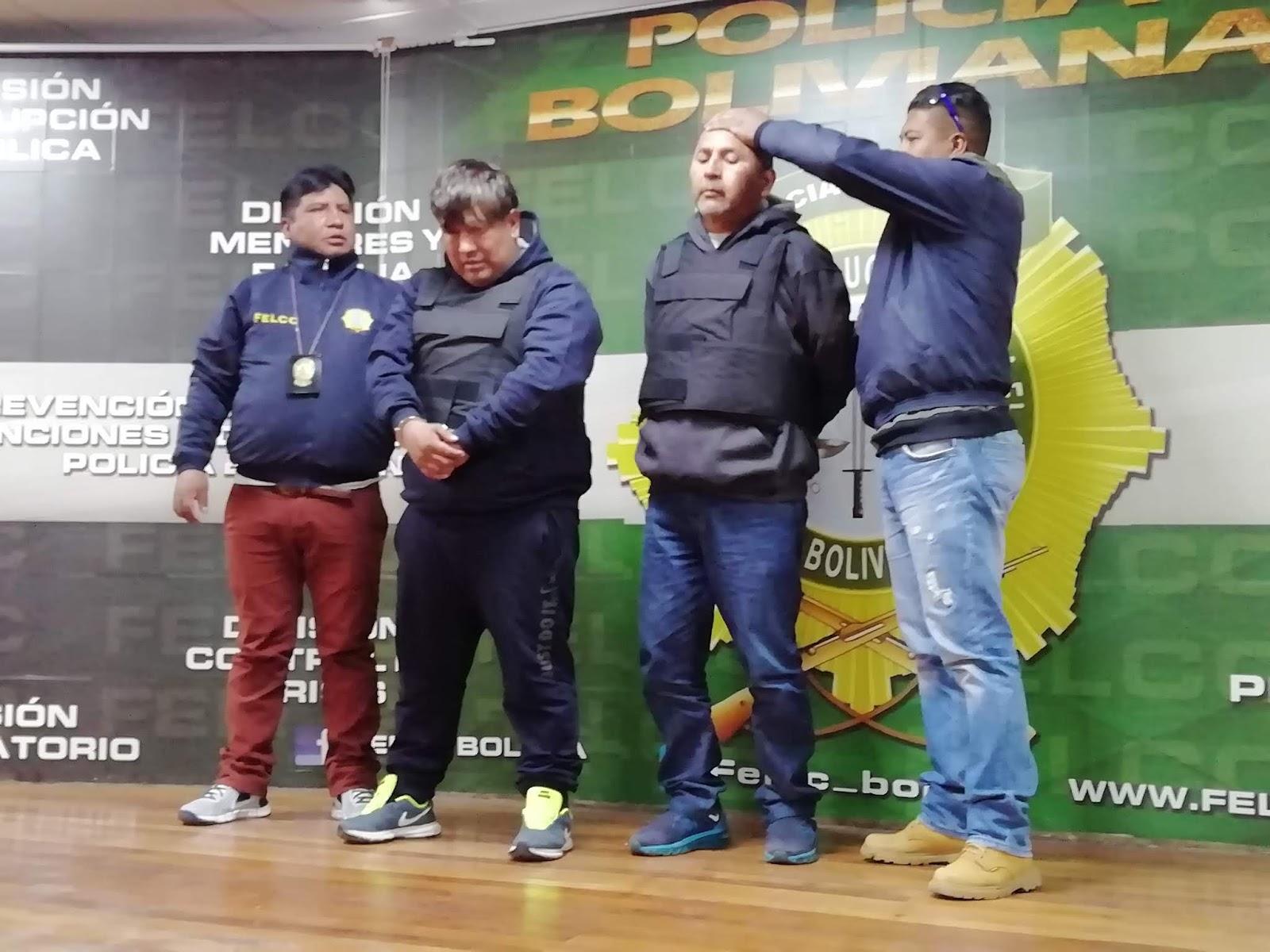 La Policía aún busca a un prófugo del clan de dos bolivianos y un peruano / FELCC