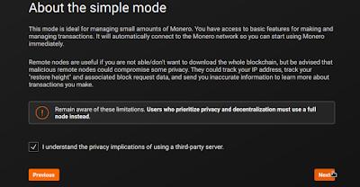 monero wallet privacy policy understanding