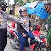Kapolsek Pattallassang Pimpin Giat Operasi Yustisi Stationer, Sasar Pengguna Jalan