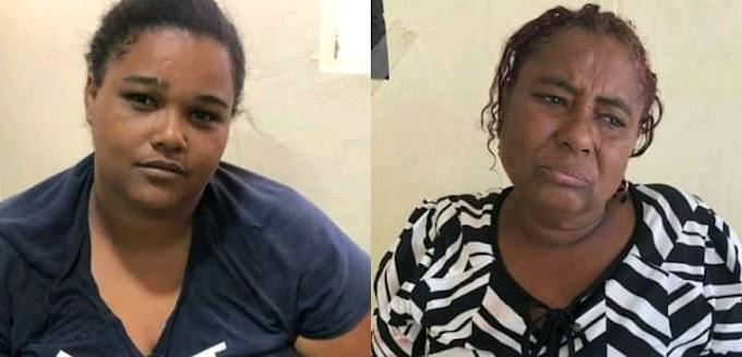 Dos mujeres se enfrentan con armas blancas, por pelea entre sus hijos menores.