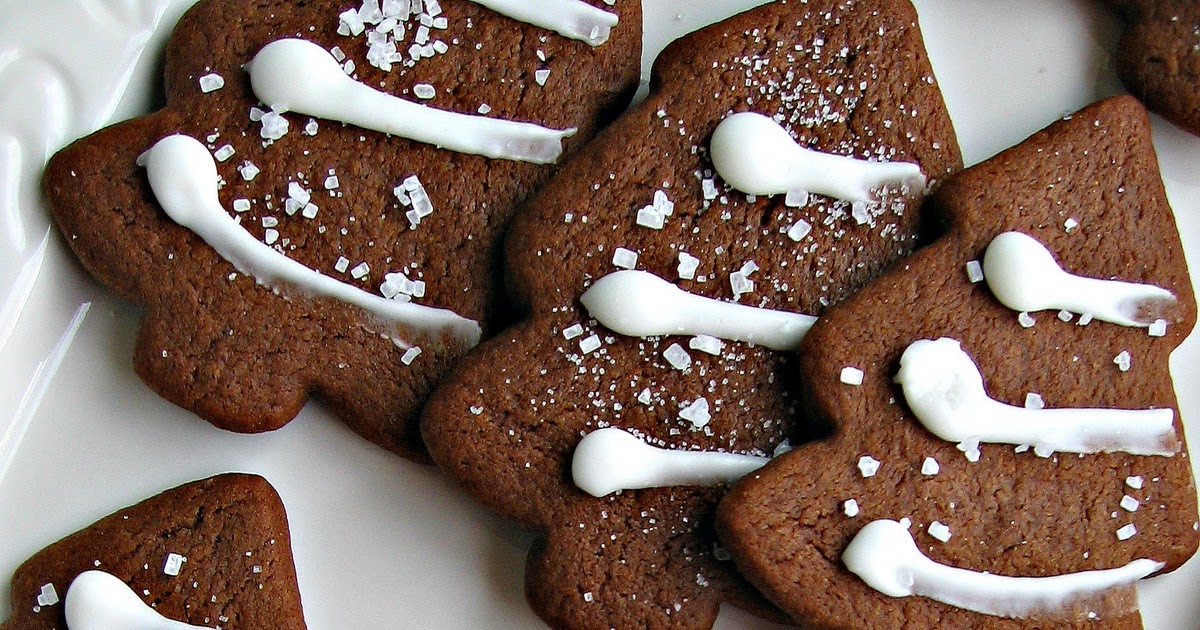 sweetsugarbean: Play: Gingerbread Trees with Lemon Icing