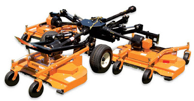 Woods TBW204 Turf Batwing Mower