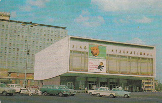 Kino international Berlin postcard 1974