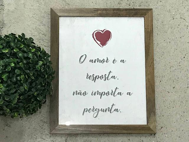 Aposte na decoração com frases para inspirar