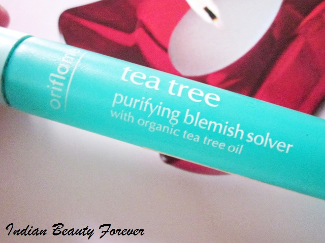 Oriflame Organic Tea tree purifying Blemish Solver Review