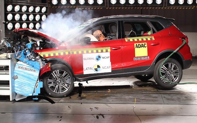 Seat Arona, irmão do T-Cross, obtém 10 estrelas Latin NCAP