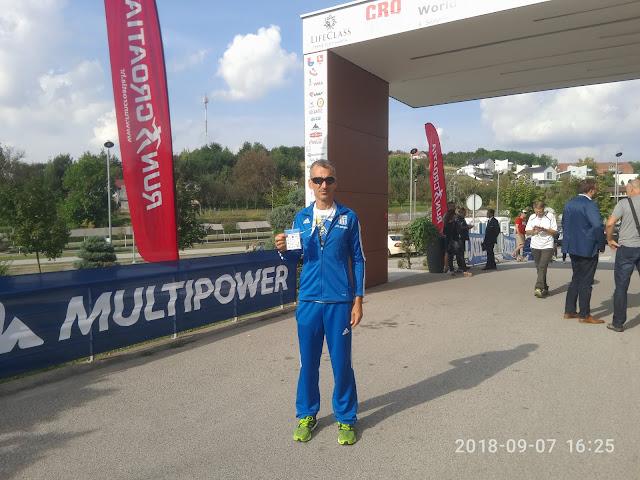 Στο Παγκόσμιο πρωτάθλημα 100 χλμ στη Κροατία ο Αργείος Γιώργος Βλάχος