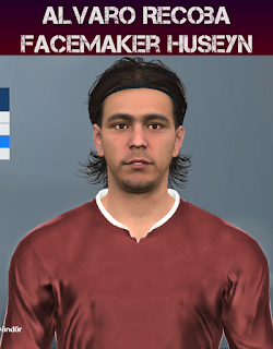 PES 2017 Faces Alvaro Recoba by Huseyn