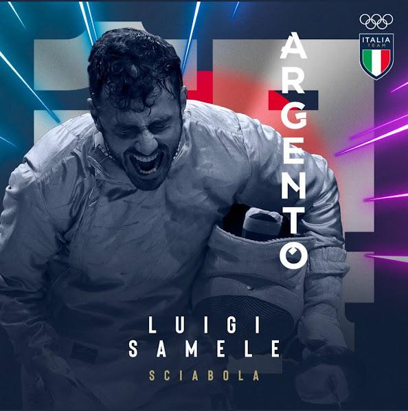 Tokyo 2020: è argento Luigi Samele, prima medaglia italiana nella sciabola