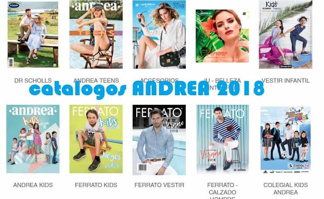 Catalogos ANDREA 2018 Primavera Mexico - en linea