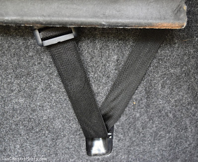 How I used these anchors to attach my headrest straps for my 4Knines car seat cover