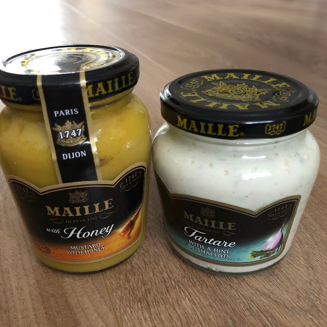 Mustard with Honey and Tartare sauce by Maille came in degustabox october