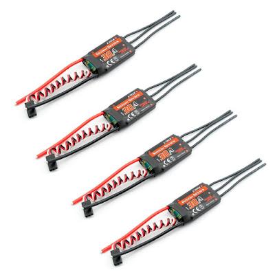E-TECH SimonK 30A Brushless ESC Speed Controller
