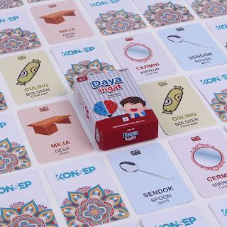 Kartu Pintar Balita Flashcard Daya Ingat